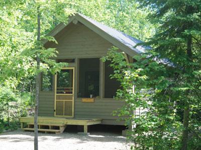 Moose Platform Cabin