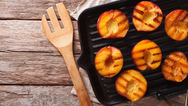 Recipe: Grilled Peaches