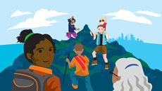 Fun family climbing event on May 19