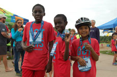 Obstacle race for kids on August 19