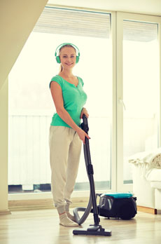 Housework workout: Get more out of chores