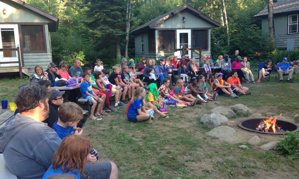 Summer at Gunflint Lodge