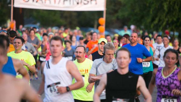 YMCA Glow Run